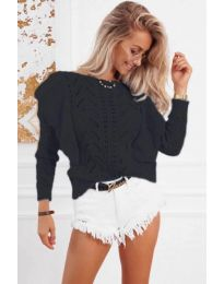 Блуза - код 5321 - црна