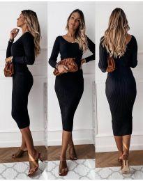Фустан - код 928 - црна