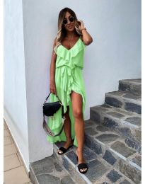 Фустан - код 0081 - неон зелена