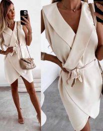 Фустан - код 7793 - кремова