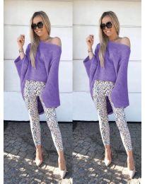 Блуза - код 937 - виолетова