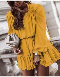 Фустан - код 3231 - жолта