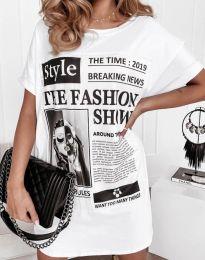 Фустан - код 7775 - бела