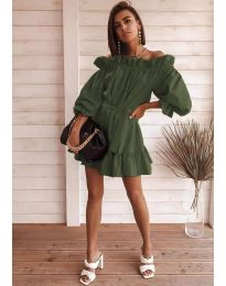 Фустан - код 3386 - путер зелена