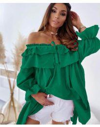 Фустан - код 9865 - зелена