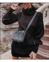 Фустан - код 2884 - црна