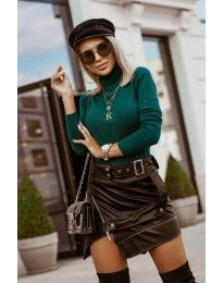 Блуза - код 8861 - 11 - зелена