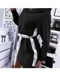 Фустан - код 4483 - црна