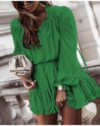 Фустан - код 3231 - зелена