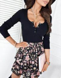 Блуза - код 9054 - црна