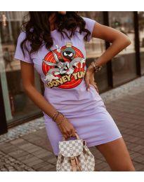 Фустан - код 0303 - 2 - виолетова