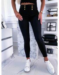 Панталони - код 9603 - 1 - црна