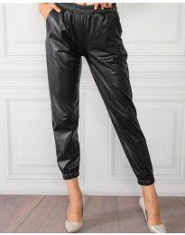 Панталони - код 8986 - 1 - црна