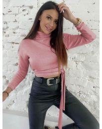 Блуза - код 5757 - розова