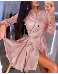 Фустан - код 2428 - розова