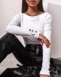 Блуза - код 11565 - бело