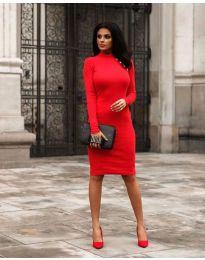 Фустан - код 7099 - 2 - црвена