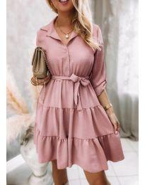 Фустан - код 6970 - розова