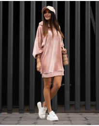 Фустан - код 4547 - розова