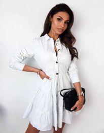 Фустан - код 3852 - бело