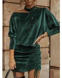 Фустан - код 8987 - путер зелена
