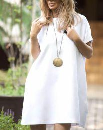Фустан - код 6332 - 3 - бело
