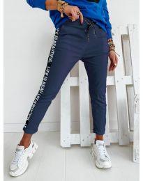 Панталони - код 3062 - темно сина