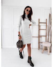 Фустан - код 5696 - бело