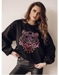 Блуза - код 5956 - црна