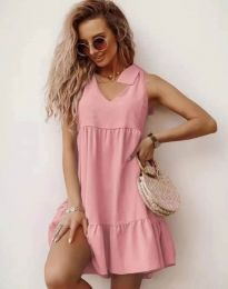 Фустан - код 7206 - розова