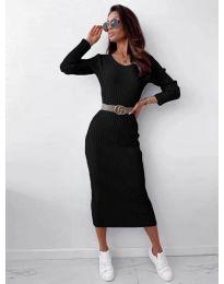 Фустан - код 5878 - црна