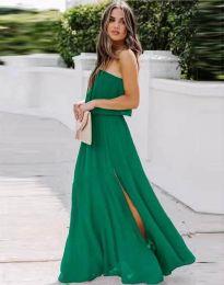Фустан - код 8871 - зелена