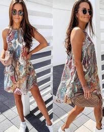 Фустан - код 3859 - 2 - цветна