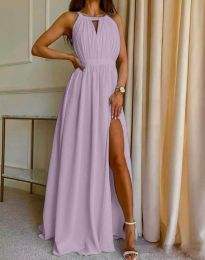 Фустан - код 6787 - виолетова