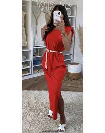 Фустан - код 7049 - црвена