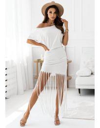 Фустан - код 12003 - бело