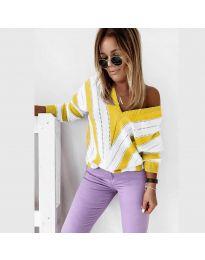 Блуза - код 0907 - жолта