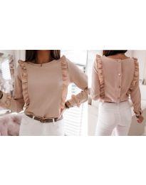 Блуза - код 4171 - розова