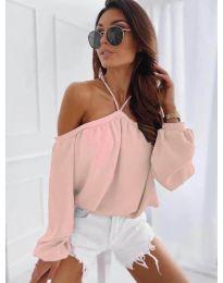Блуза - код 6561 - розова