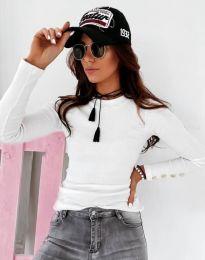 Блуза - код 12072 - бело