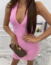 Фустан - код 4668 - розова