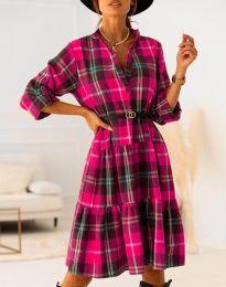 Фустан - код 6842 - розова