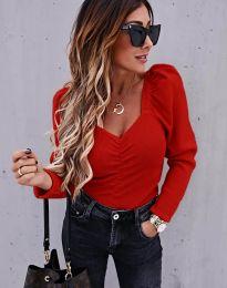 Блуза - код 394 - црвена