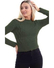 Блуза - код 145 - путер зелена