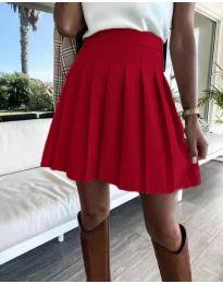 Сукња - код 8116 - црвена