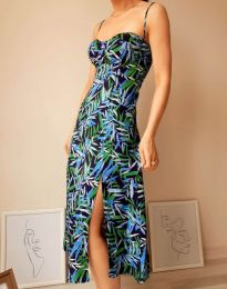 Фустан - код 8584 - 1 - шарена