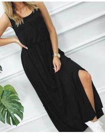 Фустан - код 7466 - 3 - црна
