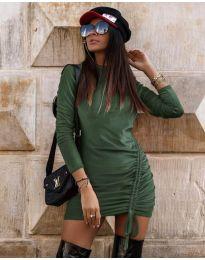 Фустан - код 9545 - путер зелена