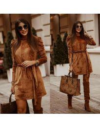Фустан - код 0722 - кафеава