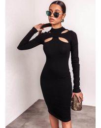 Фустан - код 1625  - 3 - црна
